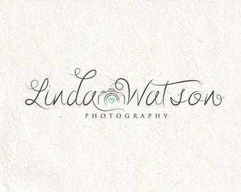 Photography logo - premade logo design - Photography Watermark - Camera logo. Instant download digital download psd file
