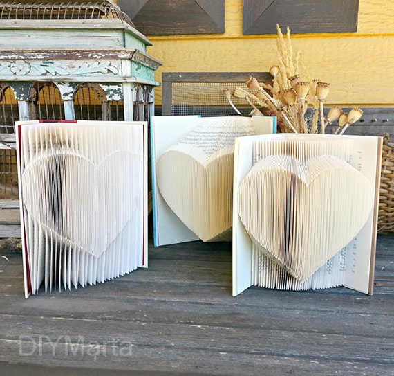 Folded Heart Pattern: 1 Pattern, 3 Ways - by DIYMarta