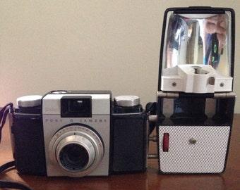Kodak Pony II 135 film camera with flash
