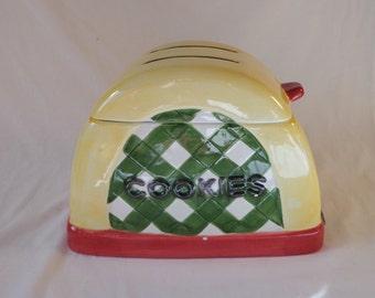 COOKIE JAR ~  Toaster, Sakura, Debbie Mumm