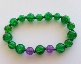 HULK inspired stretch bracelet