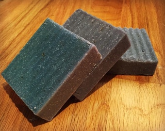 Blueberry Oatmeal Handmade Cold Process Soap