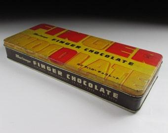 1950s Morinaga Confectionery Tin