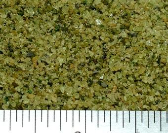 Peridot - Small Sand - 100% Genuine Without Fillers