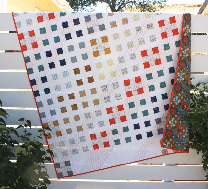 Modern Quilt Patterns Free Download : Modern quilt pattern Patch Nine a modern take