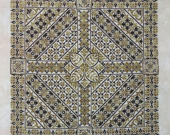 Shades of Olive PDF chart - Northern Expressions Needlework