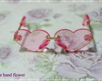 Blythe doll glasses,eye wear accessories.