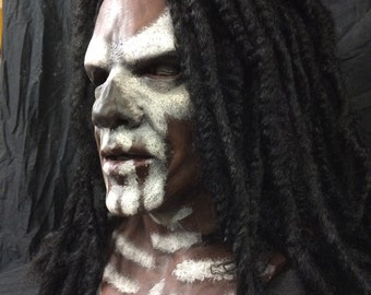Witch Doctor - super realistic silicone mask- made to order