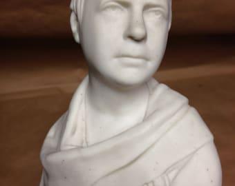 Parian Ware Bust Of Sir Walter Scott C.1880