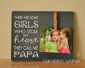 Papa And Me Frame Etsy