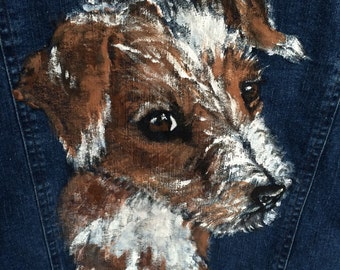 Jack Russell Denim Jacket