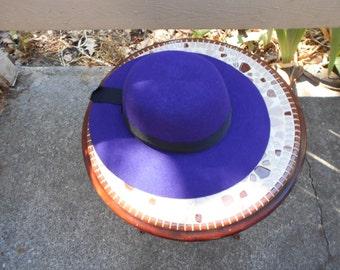 Darling Purple womans Bonnette 7 1/8 to 71/4
