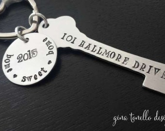 First Home Christmas Ornament, First Home Gift, New Home Gift Ornament, New House Christmas Ornament, Personalized House Warming