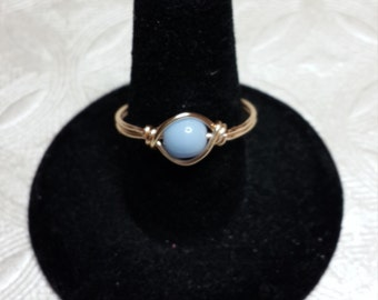 Alice blue ring