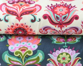 Folk Bloom Bundle- Amy Butler, Bright Heart Collection, Quilting Weight Cotton