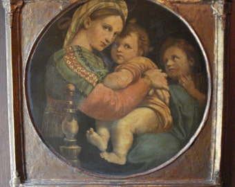 Royal Art Company Gesso Duro Craft, Raphael Madonna of the Chair, #1515