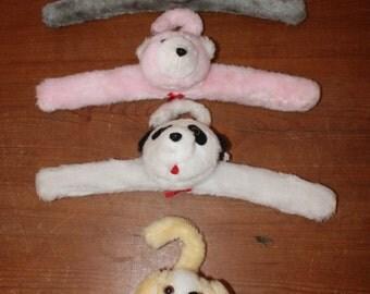 Set of 4 Infant/Child's Animal Head Hangers