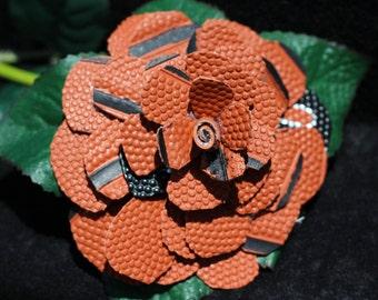 Basketball Rose in Full Bloom