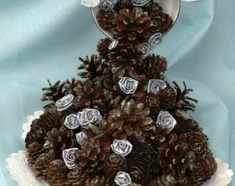 Pine Cone Wedding Table Decoration