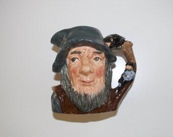 Rip Van Winkle Royal Doulton & Co Character Toby Jug Mug Cup Head D6463