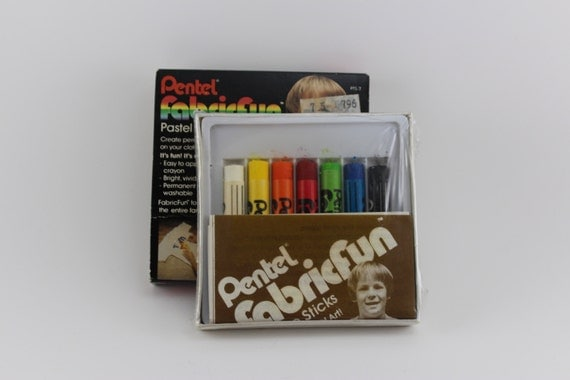 pentel fabric fun pastel dye sticks instructions