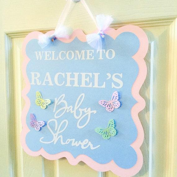 Baby Shower Door Decorations ~ Baby shower door sign decoration gender neutral