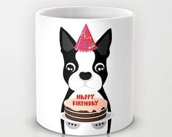 Boston Terrier Cake Etsy
