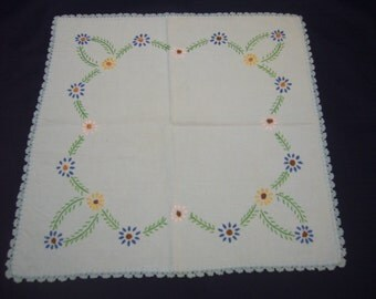 Two (2) Beautiful Linens, Basket Liners, Tray Liners or Doilies.