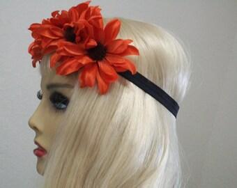 Rave Headband, Coachella Headband, Festival Headband, EDC, Daisy Crown, Boho Hippie Headband, Music Festival, Daisy Crown