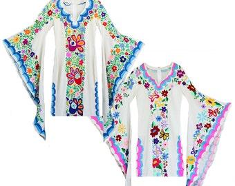 Woodstock Caftan Mini Dress