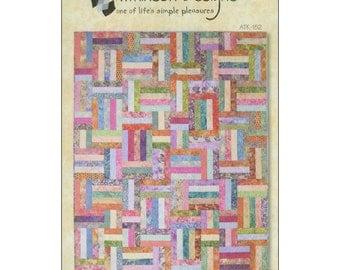 Pattern - Popsicle Sticks Quilt Pattern by Atkinson Designs