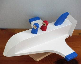 Wooden Space Shuttle
