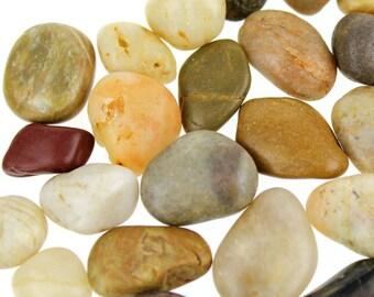 Natural River Stone Rocks Pebble, 1-Inch