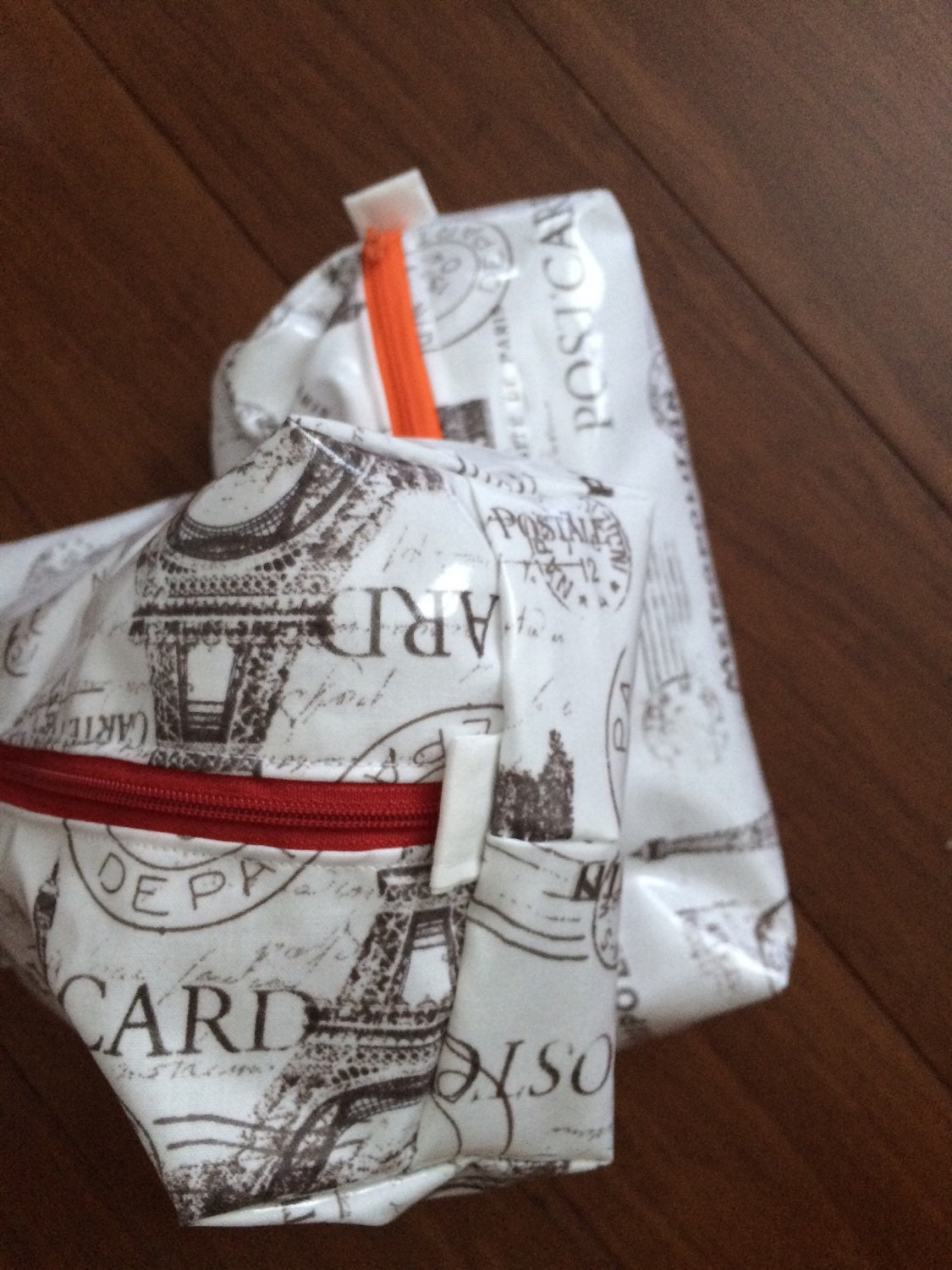Paris Themed Toiletry Bag For Travel Plastic On By Geegeegogo