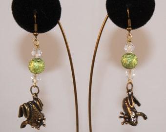 Frog Prince Earrings