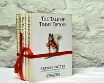 Set 9 Beatrix Potter Books, Vintage Childrens Hardback Books, Old Books, Classic Childrens Stories, Kids Gift Book Set, UK Sellers