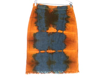 Vintage O'SPORT JEANS Cotton Skirt