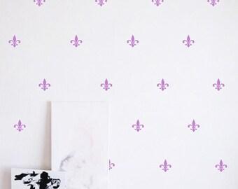Wall Sticker - Fleur De Lis - Set of 70