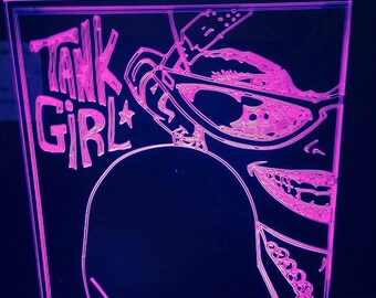 tank girl light up