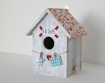 Bird house. 100% hand made.