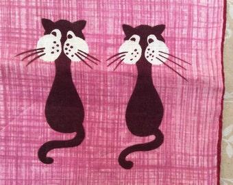 Vintage Kit Ann Cotton Handkerchief
