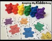 Matching Bears - Patterns, Mamas & Babies, Colors