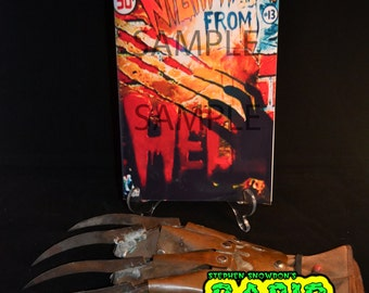 Nightmares from Hell Comic Replica Prop - Elm Street 5 Freddy Krueger