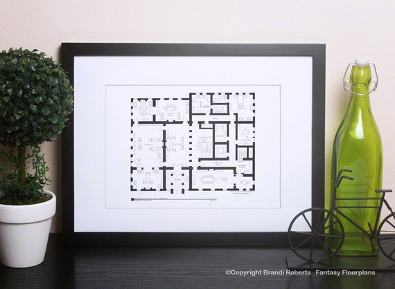 Downton Abbey Tv Show Floor Plan For Home Of The