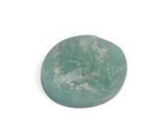 Brazilian Emerald Oval Rough Cut Loose Gemstone 1A Quality 10x8mm TGW 2.80 cts.