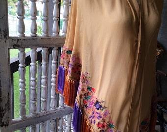 Vintage gypsy shawl