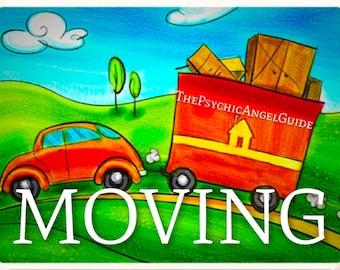 MOVING Tarot Reading video & JPG