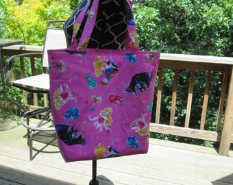 Large Sleeping Beauty Tote Bag