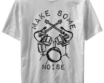 Make Some Noise kids Rock  T-shirt  Kids Funny Kids and Toddler shirts-Kids Gifts- Kids T-shirts-Cute kids gifts