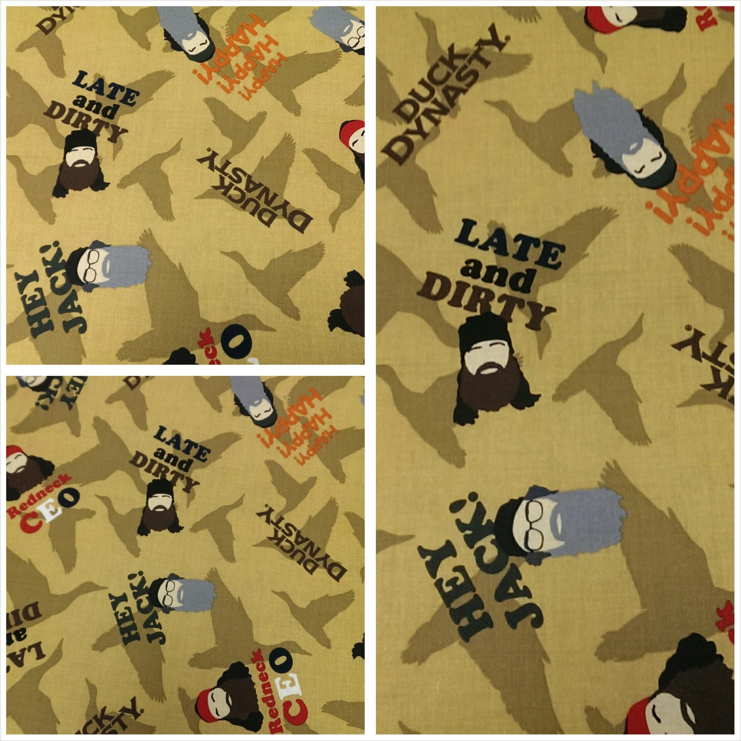 Duck dynasty fabric kids fabric clothing fabric apparel for Kids apparel fabric